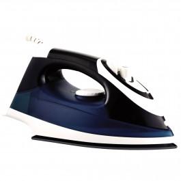 Herzberg HG-8037: 2200W Steam Iron - Dark Blue