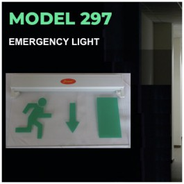 Emergency Exit Light - 6 Different Signs