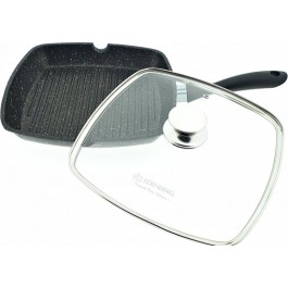 Edënbërg Induction Grill pan - Deep frying pan - 24x24 cm