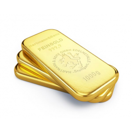 100 Kg German Gold Bars 10 % Discount