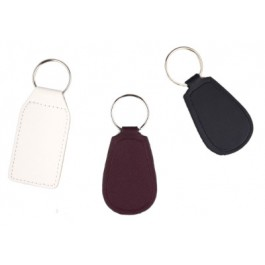 key ring, imitation leather, mix of 3 types