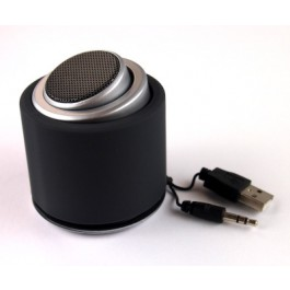 portable USB-charged speaker