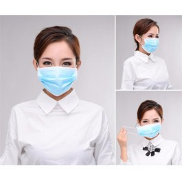 Earloop Pleated 3 Ply Medical Procedure Disposable Surgical Face Mask