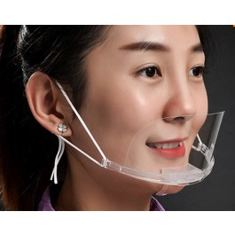 Transparent mouth masks / masks