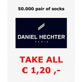 50.000 pairs of Daniel Hechter socks all sizes €1,20