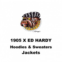 1905 Stück Ed Hardy & Urban Way Hoodies & Sweater kosten 6 € -