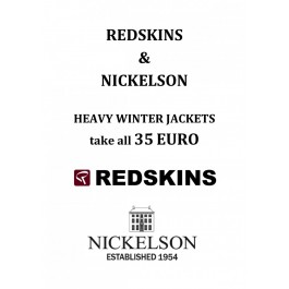 REDSKIN AND NICKELSON HEAVY WINTER COATS € 35, -