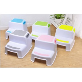 Two-tier step stool kids