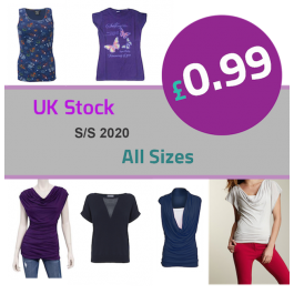 Womens Summer Clothing Wholesale OFFER UK 0.99p!!