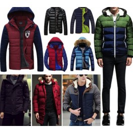 Mens winter clothing wholesale (jacket & trouser)
