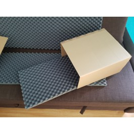 Shipping boxes  packaging isolation