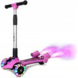 C.ool kids scooter with smoke, sound and LED lighting - multi colour SC-029