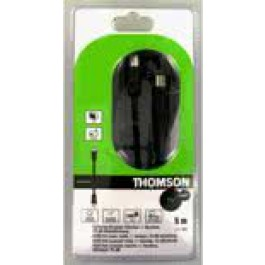 Thomson KCT422 5m Coax Plug Coax Socket Cable