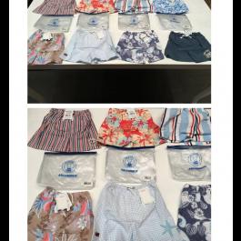 Swimwear, flip flops, textiles, accessories, shoes