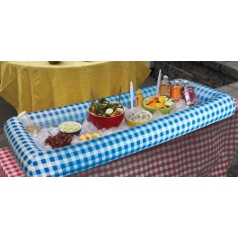 BigMouth Inc Inflatable Buffet, Pinic Blue, Holds Drinks, Snacks and More