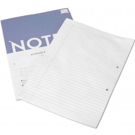 lined paper Din A4 (100 sheets)
