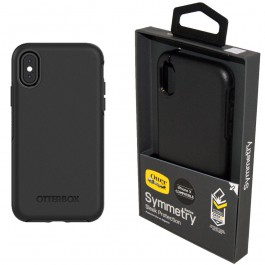 Genuine OtterBox Symmetry Series Tough Case Cover for iPhone X 10 - Black