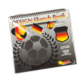 football coloring with templates and stickers - Germany