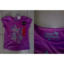 孩子们的紫色衬衫