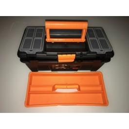 Plastteam Toolbox Black/Orange