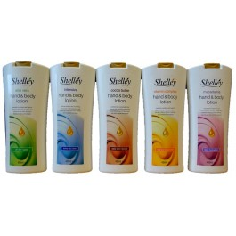 Shelléy Hand en Bodylotion 450 ml.