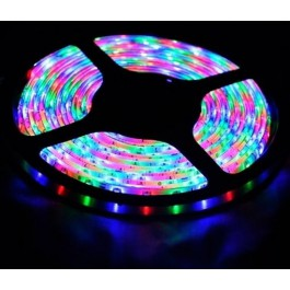 Farbiger LED Strips RGB 4.5 m with Adapter and Fernbedienung ST-013